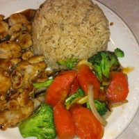 Photo taken at MP Hibachi Grill by Krista S. on 5/2/2013