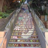Photo taken at Hidden Garden Mosaic Steps by Grega K. on 4/17/2016