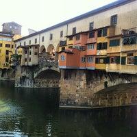 Photo taken at Ponte Vecchio by Luthfi S. on 7/21/2013
