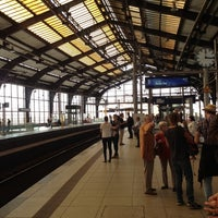 Photo taken at Bahnhof Berlin Friedrichstraße by Jonathan C. on 9/17/2012