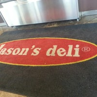 Photo taken at Jason's Deli by Mike M. on 6/18/2013