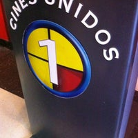 Photo taken at Cines Unidos by Silvana F. on 1/5/2013