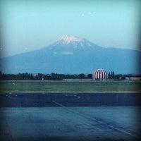 Photo taken at Zvartnots International Airport (EVN) by Elena T. on 7/1/2013