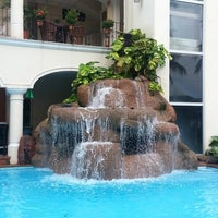 Photo taken at Hotel Playa Los Arcos by Jorge C. on 9/27/2013