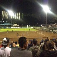Photo taken at Rainbow Wahine Softball Stadium by T. Thurstan W. on 5/4/2013