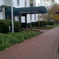 Photo taken at Capitol Hill Club by Brian R. on 11/16/2012