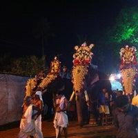 Photo taken at Sree Mahadeva Temple by Vipin V. on 3/19/2013