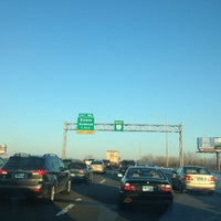 Photo taken at I-84 -- Hartford by Donnovan B. on 2/14/2013