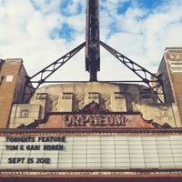 Photo taken at Orpheum Theatre by Chris J. on 10/19/2012