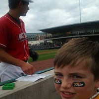 Photo taken at Bowling Green Ballpark by Ashley R. on 4/28/2013