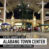 Photo taken at Alabang Town Center by Dennis M. on 1/12/2013