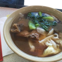 Photo taken at Wong Good Hand Pull Noodle by Tiffany H. on 8/22/2015