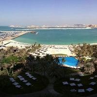 Photo taken at Le Méridien Mina Seyahi Beach Resort & Marina by Alex on 2/2/2013