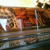 Photo taken at Philly Pretzel Factory by Brian S. on 3/20/2013