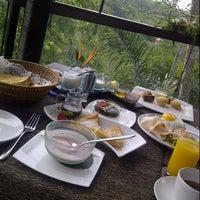 Photo taken at Kupu Kupu Barong Resort And Tree Spa by Puti M. on 2/17/2013