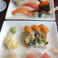 Photo taken at Sushi Lounge by Victoria M. on 8/21/2013