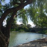 Photo taken at Lakeshore Park by Kathleen N. on 3/31/2015