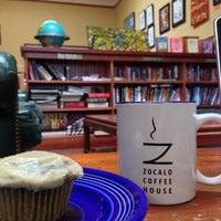 Photo taken at Zocalo Coffeehouse by Kathleen N. on 6/27/2013