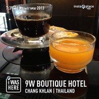 Photo taken at 9W Boutique Hotel by Kanok C. on 5/16/2013