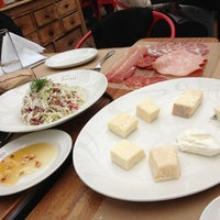 Photo taken at Birreria at Eataly by Mariah B. on 3/2/2013