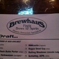 Photo taken at Brewhaus by DJ Bugz on 5/9/2013