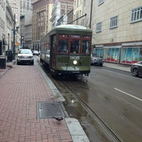 Photo taken at St. Charles Avenue Streetcar by Kent G. on 2/22/2013