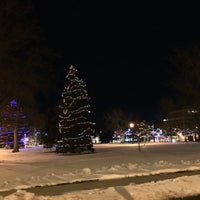 Photo taken at Downtown Greeley by Venkatesh H. on 1/1/2016