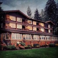 Photo taken at Alderbrook Resort & Spa by Trent on 11/3/2012