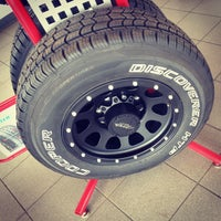 Photo taken at Discount Tire® Store by Andrew B. on 9/19/2013
