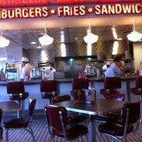 Photo taken at Johnny Rockets by Patricio P. on 1/26/2013