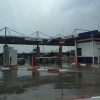 Photo taken at Gasolinera Carrefour Planet by Ana E. on 11/21/2015