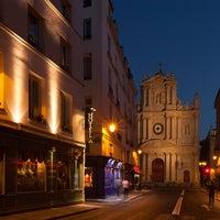Photo prise au Hôtel Saint-Paul le Marais par Xavier C. le7/17/2013