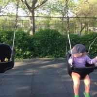 Photo taken at Van Vorhees Playground by jake f. on 5/17/2014