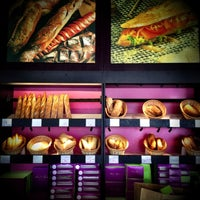 Photo taken at Pascal Tepper French Bakery - Meilleur Ouvrier de France by Faris K. on 11/22/2012