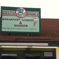 Photo taken at Beach Bagels by Janice D. on 10/12/2013