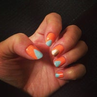 Photo taken at Eve's Nails Astoria by Michelle Marie on 4/19/2014