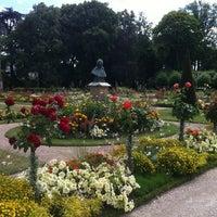 Photo taken at Jardin de l'Archevêché by Sabine on 8/18/2013