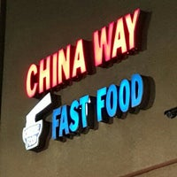 Photo taken at China Way Fast Food by Rudy V. on 3/6/2016