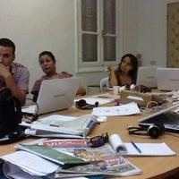 Photo taken at معهد صحافة الحرب والسلم by Sofiane C. on 9/24/2012