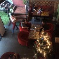 Photo taken at Copen Coffee Shop by Tru N. on 12/27/2012