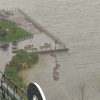 Photo taken at Frankenstorm Apocalypse - Hurricane Sandy by Laura B. on 10/29/2012