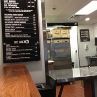 Photo taken at M Burger by Sam O. on 2/21/2013