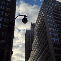 Photo taken at Broadway Pedestrian Mall - 39th St to 42nd St by David K. on 9/27/2013