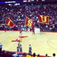 Photo taken at James H. Hilton Coliseum by Corey J. on 1/12/2013