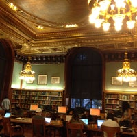 Photo taken at New York Public Library - Wertheim Study by Anna A. on 10/6/2016