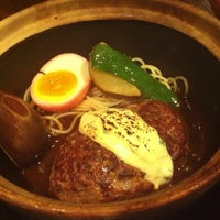 Photo taken at 俺のハンバーグ 山本 恵比寿本店 by T Y. on 11/19/2012