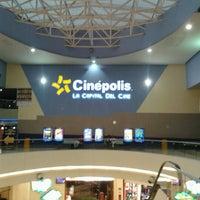 Photo taken at Cinépolis by Yir G. on 10/5/2012