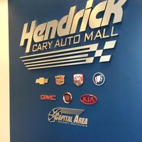 Photo taken at Hendrick Chevrolet by Ryan B. on 11/4/2014