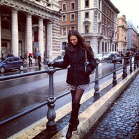 Photo taken at Via del Corso by Marina T. on 1/28/2013