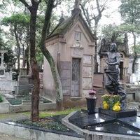 Photo taken at Cemitério da Consolação by Dan P. on 1/23/2013